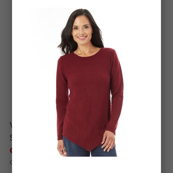 6b8236b2a31 Women s APT. 9 Mitered Crewneck Sweater